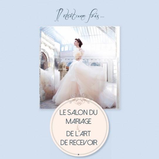 """Création du logo et mise en page du """"Salon du mariage"""""""