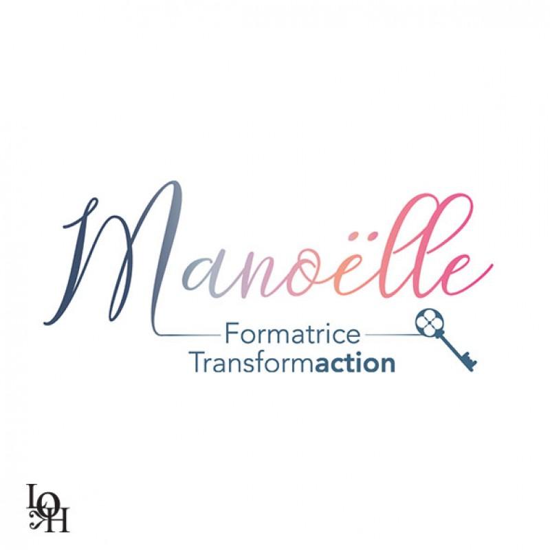 Création du logo de Manoëlle