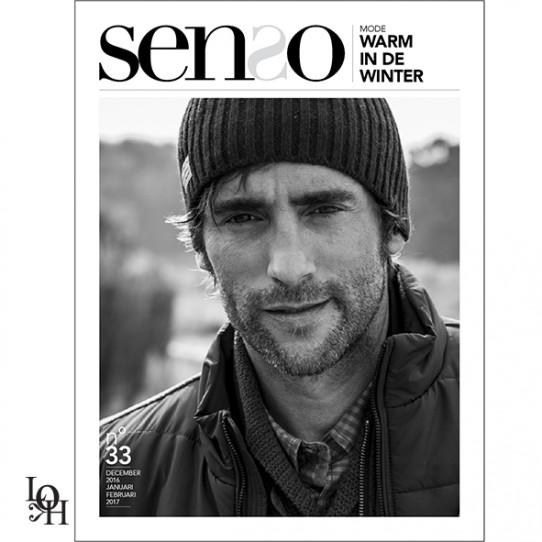 """Mise en page du magasine """"SENSO"""""""