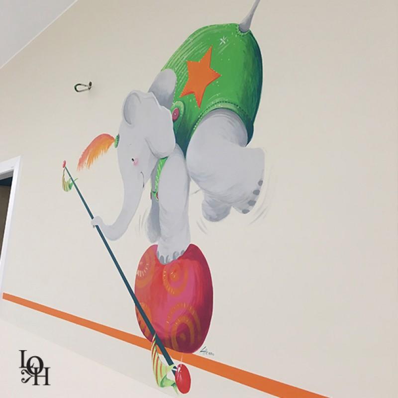 Fresque cirque couloir Hopital -4