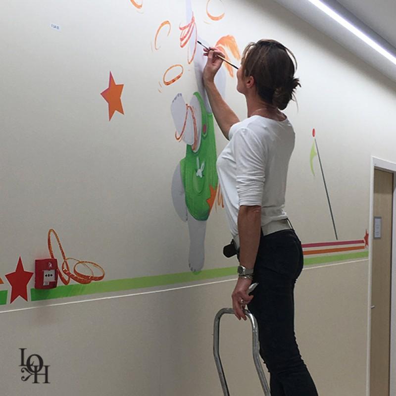Fresque cirque couloir Hopital -1