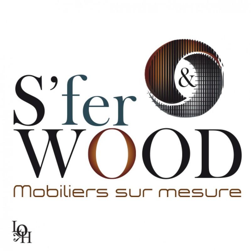 Logo S Fer et Wood rond