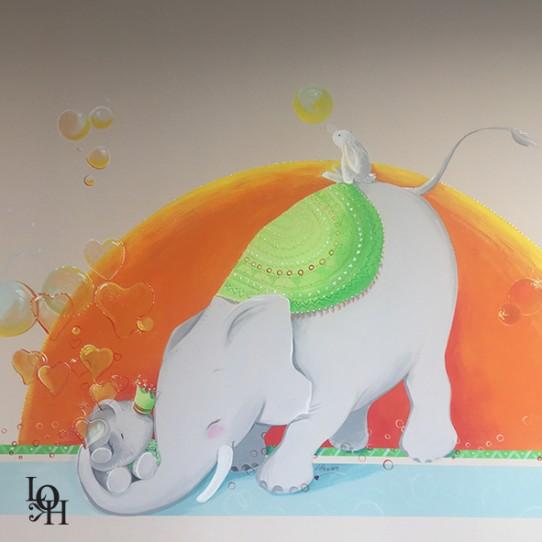 Fresque salle de consultation-tendresse-1