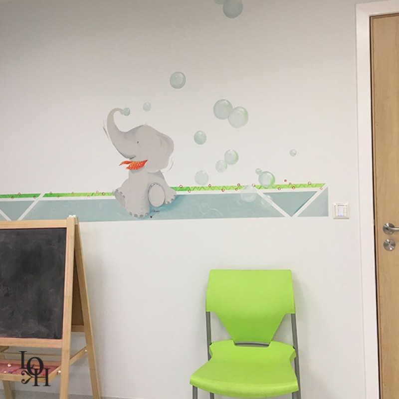 Fresque salle de consultation-tendresse-4