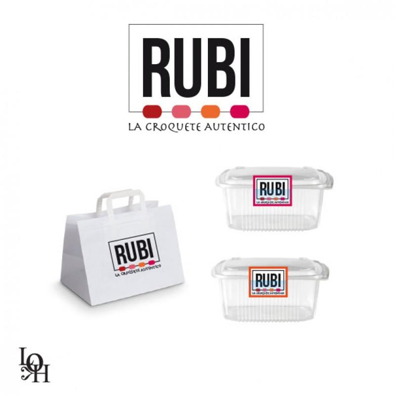 """Recherche de packaging autour des produits """"RUBI"""""""