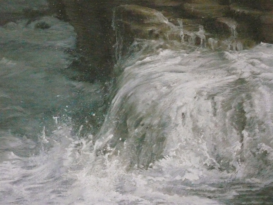 Mer et roche
