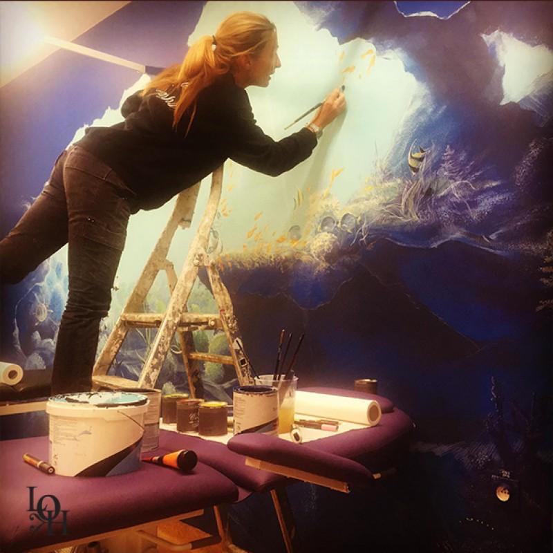 Fresque Huderf – salle de soins_2-Marine