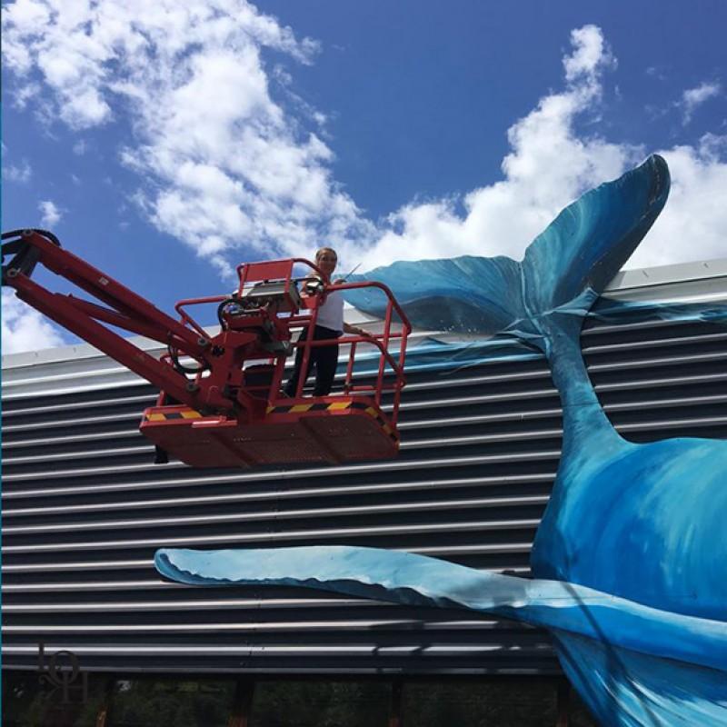 Fresque Nemo 33- réalisation façade