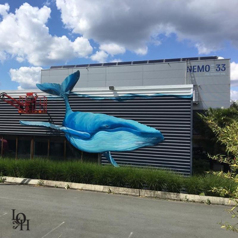Fresque Nemo 33 façade