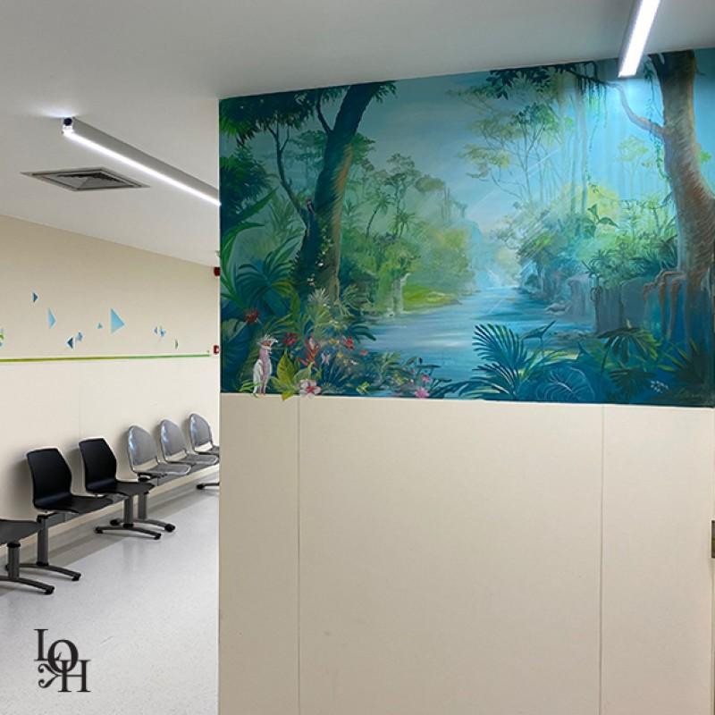Fresque Tropicale – Prélèvements- HUDREF
