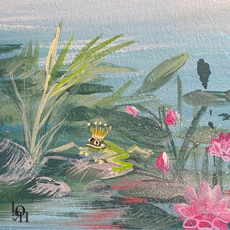 Fresque Tropicale -détail – HUDREF