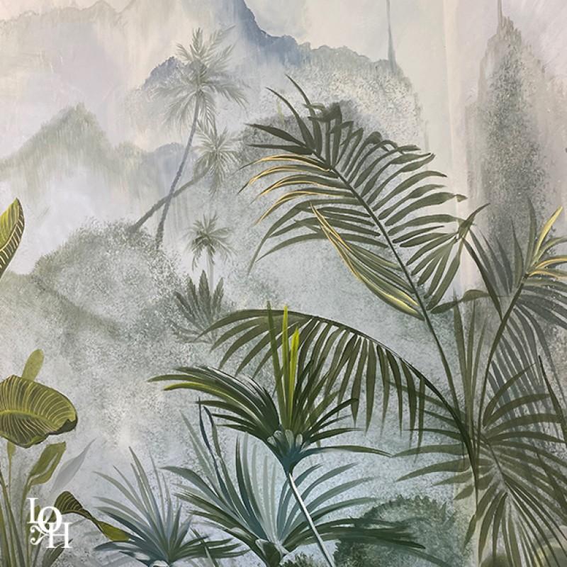Fresque tropicale détail-1