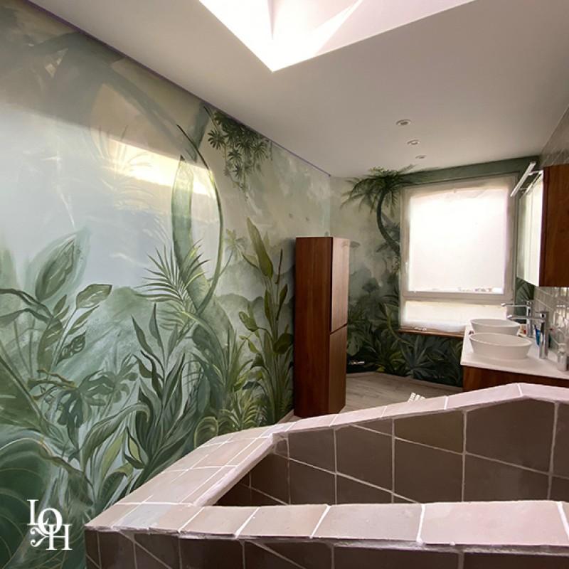 Fresque tropicale 2