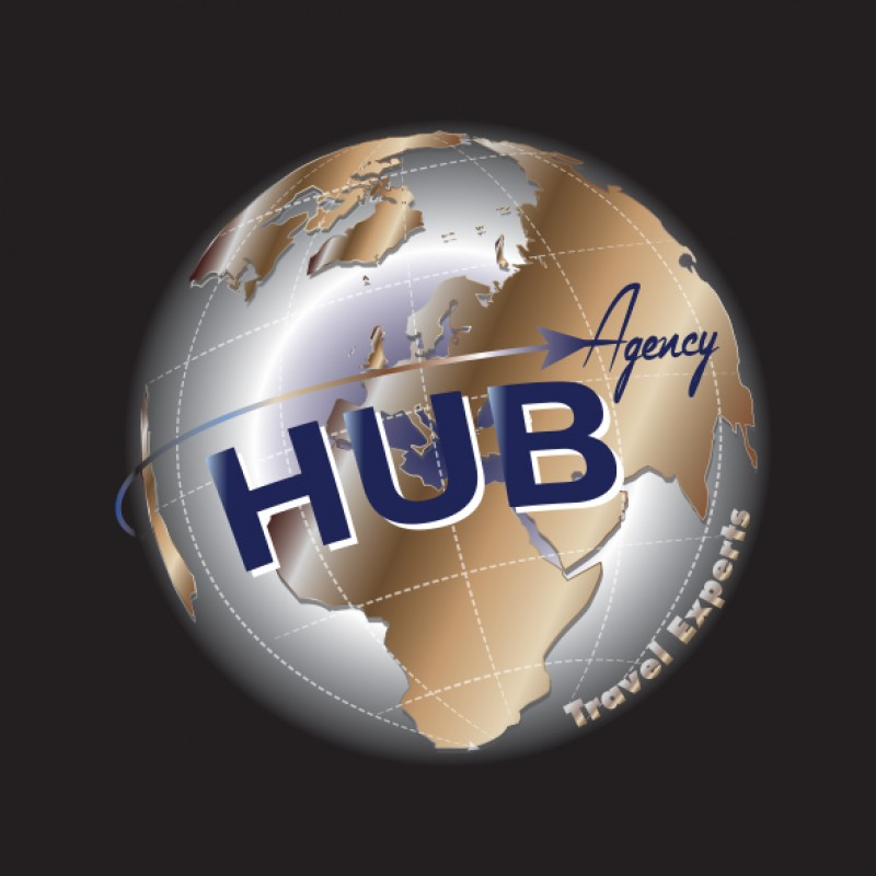Logo HUB Agency black by LoH