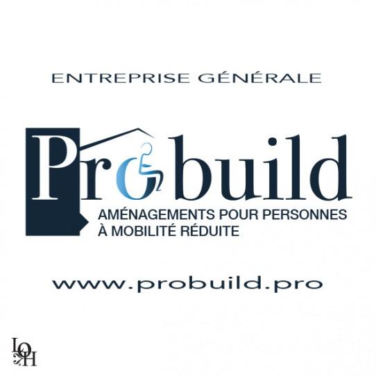 Logo de l'entreprise générale Probuild aménagements