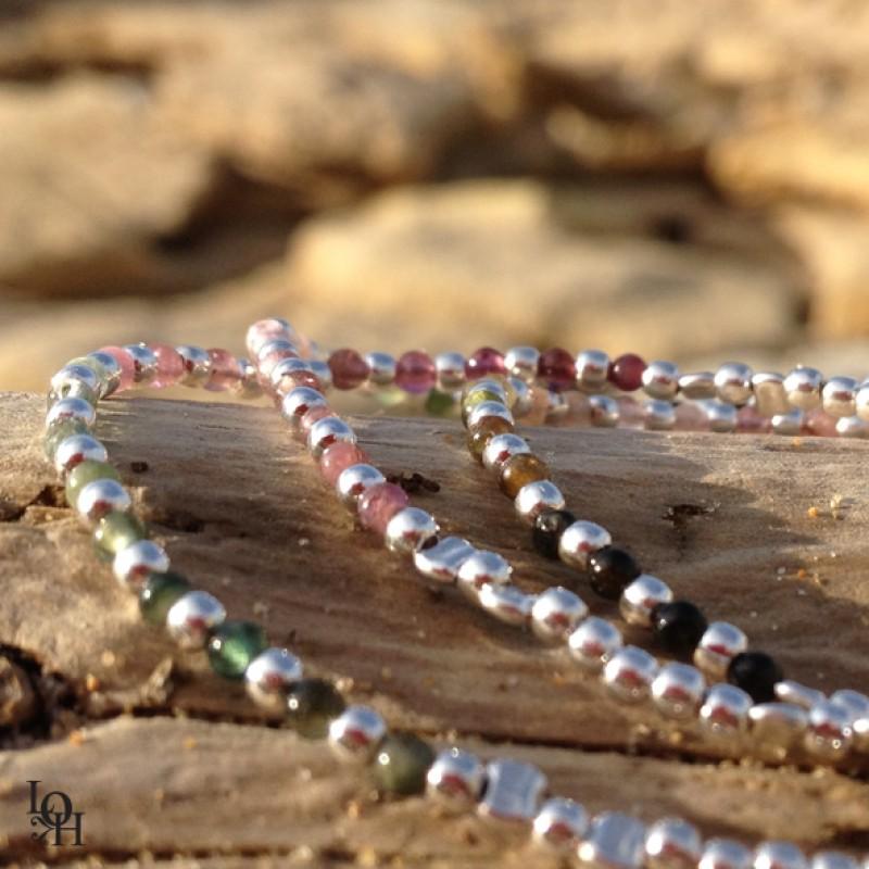 Bracelets perles d'argent 925