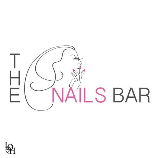 logo pour le salon The Nails Bar